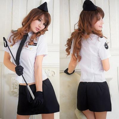 黒×白・セクシーミニスカポリス